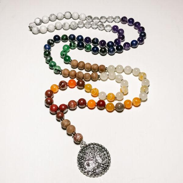 Rainbow Seven Chakra Mala